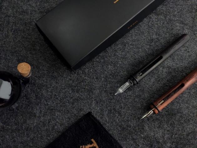 GeckoDesign 和諧之筆 x 默契墨水瓶(圓) 手工製文具組 7