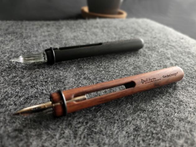 GeckoDesign 和諧之筆 x 默契墨水瓶(圓) 手工製文具組 6