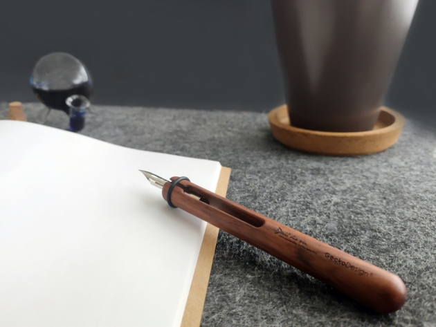 GeckoDesign 和諧之筆 x 默契墨水瓶(圓) 手工製文具組 9