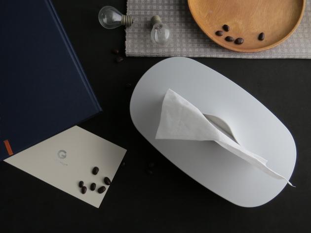 GeckoDesign 伸縮面紙盒-單色款 10