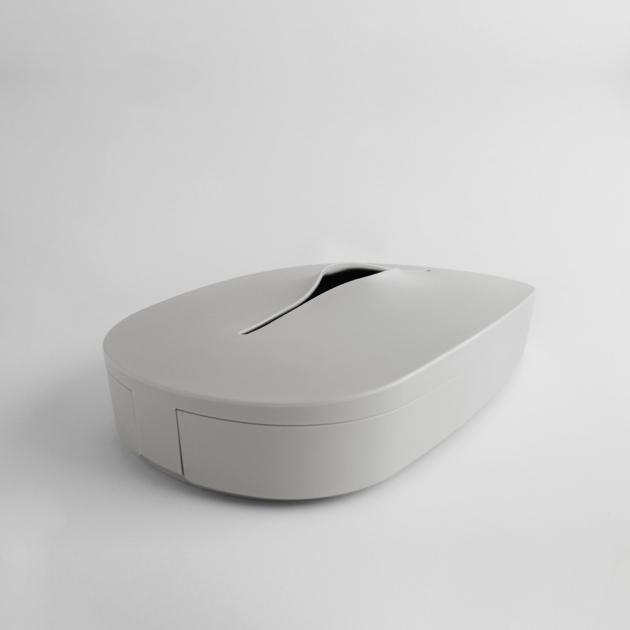 Flexible Tissue Box - Cream Gray 2