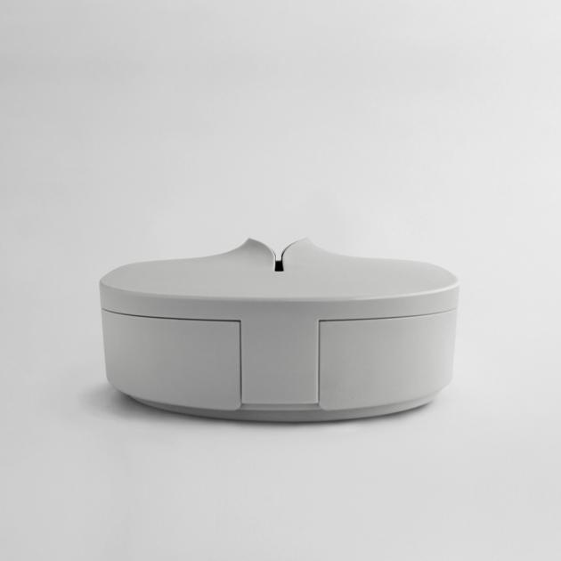 Flexible Tissue Box - Cream Gray 3