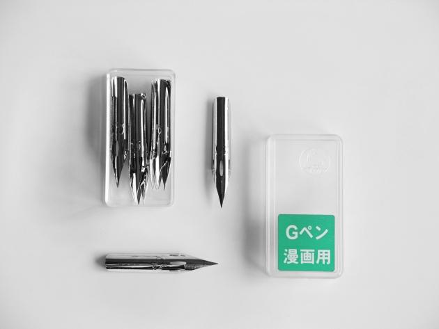 日本Zebra斑馬 沾水筆筆尖-G尖普通版 (10支盒裝) 7
