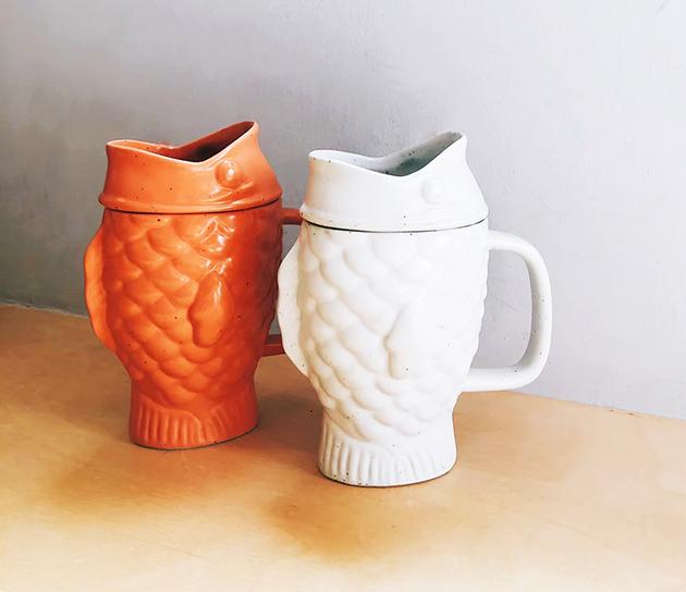 DOIY 鯛魚燒泡茶杯 (2色) 1