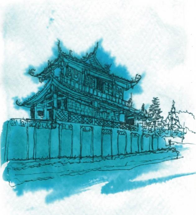 光質作-赤崁樓香氛墨水-補充包(藍綠色) 6