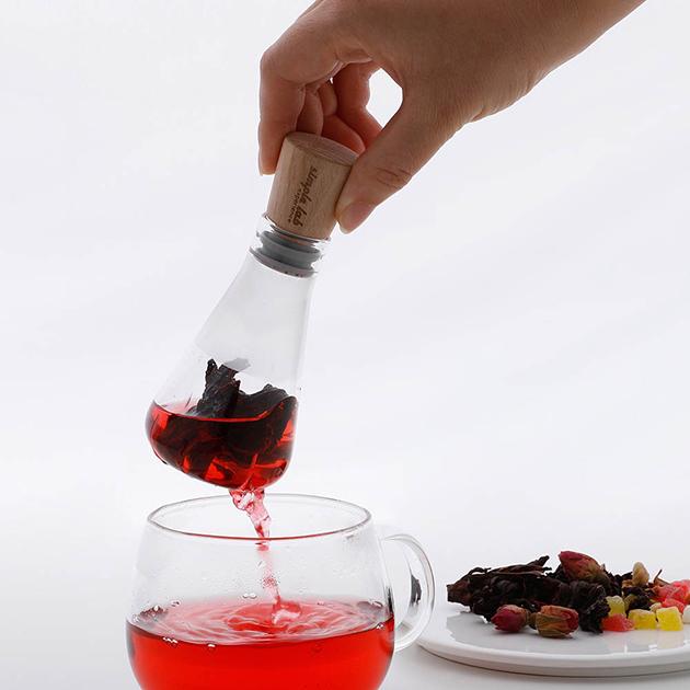 simple lab FLASK+ 燒瓶泡茶器 3