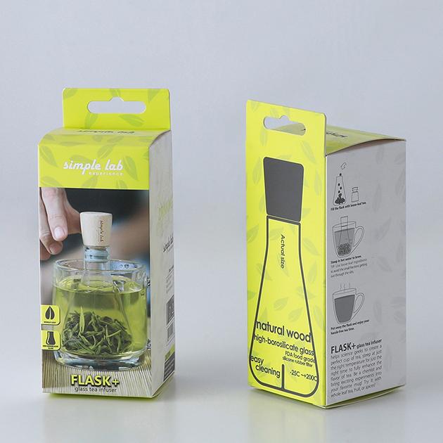 simple lab FLASK+ 燒瓶泡茶器 6
