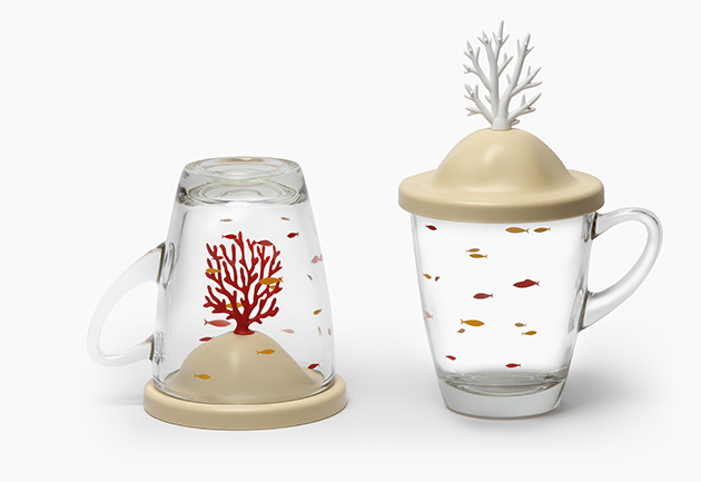 QUALY 珊瑚杯 (2色) 2