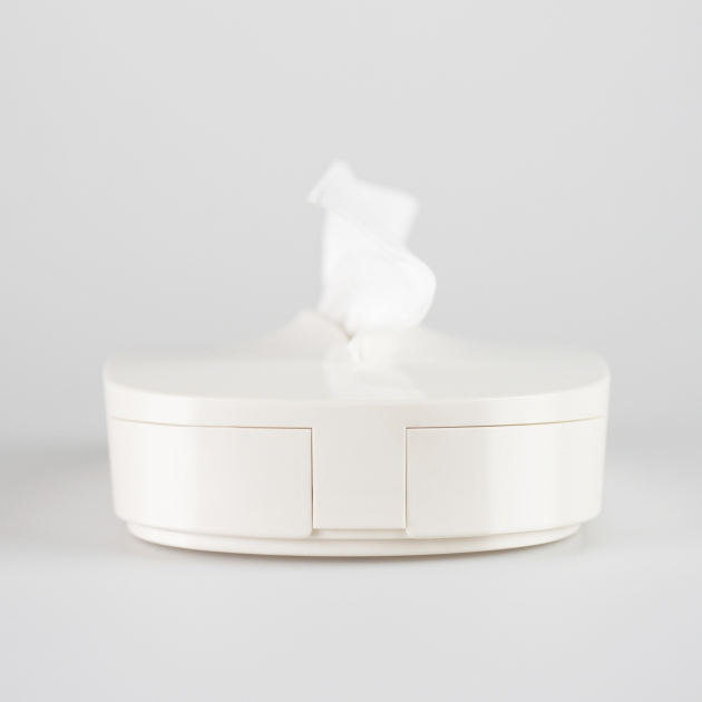 Flexible Tissue Box - Vanilla White 3