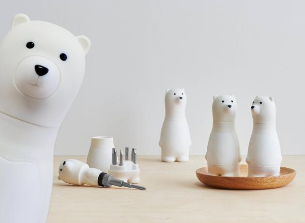 iThinking Bear Papa 棘輪螺絲起子組 展示款 (5色) 7