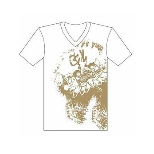 台南文化T恤-府城尋蹟-安平劍獅 (男女適用版) 黑/白 2