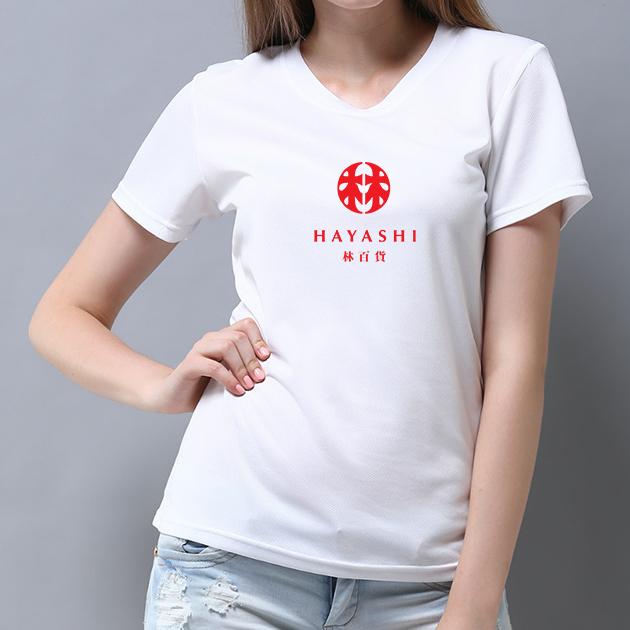 林百貨日本復古款式紀念T恤 (女性適用版) 白/黑 5