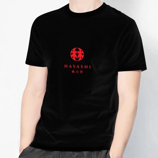 林百貨日本復古款式紀念T恤 (男女適用版) 白/黑 6