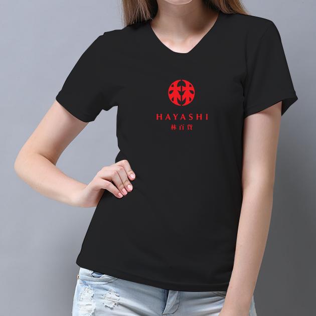 林百貨日本復古款式紀念T恤 (女性適用版) 白/黑 6