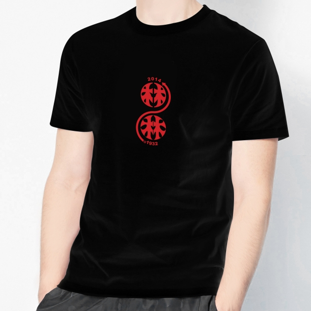 林百貨日本指針款式紀念T恤 (男女適用版) 白/黑 6
