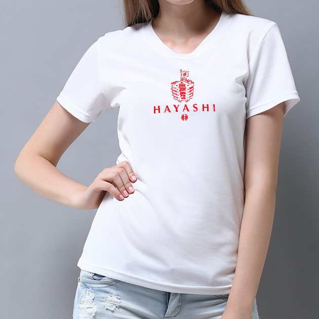 林百貨日本稻荷神社款式紀念T恤 (女性適用版) 白/黑 5