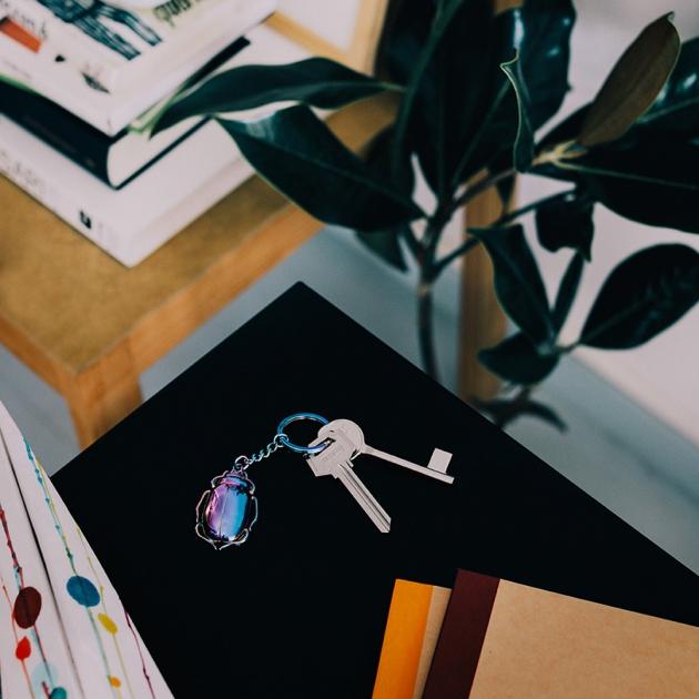 DOIY 金龜子鑰匙圈 (2色) 8