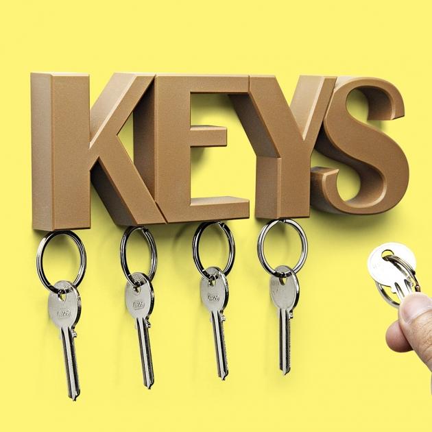 QUALY KEYS 鑰匙收納架 (3色) 7