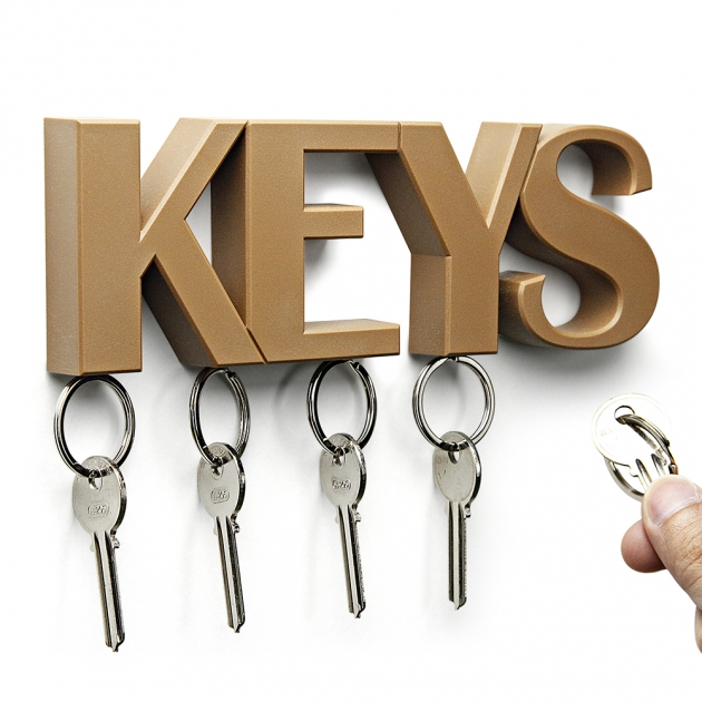 QUALY KEYS 鑰匙收納架 (3色) 1