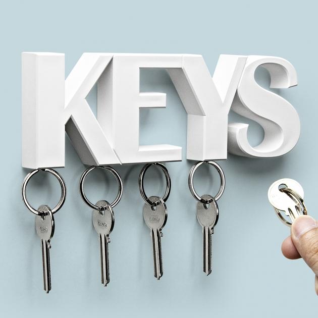 QUALY KEYS 鑰匙收納架 (3色) 9