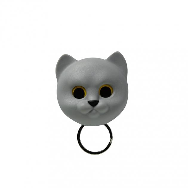 QUALY 喵喵鑰匙圈 (3色) 3