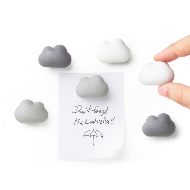 QUALY 朵朵雲兒-磁鐵 (2款) 4