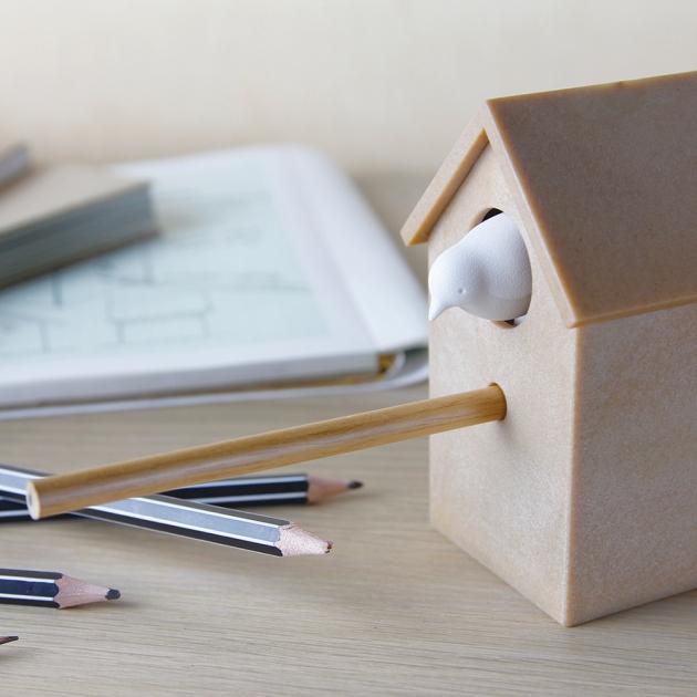 QUALY 枝上雀兒-削鉛筆機 (4色) 5