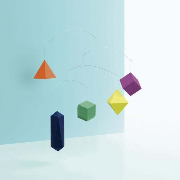 SMALL GOOD THINGS 空飄幾何-平衡吊飾 (2款) 4