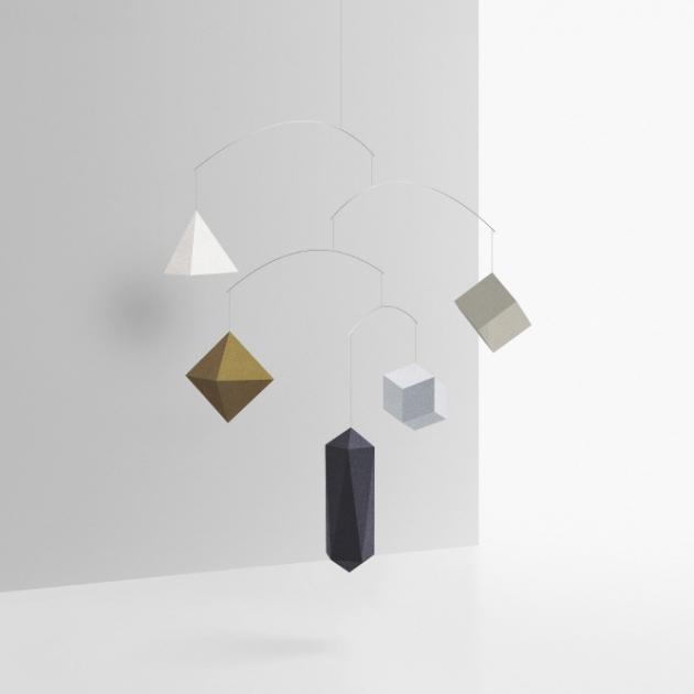 SMALL GOOD THINGS 空飄幾何-平衡吊飾 (2款) 3