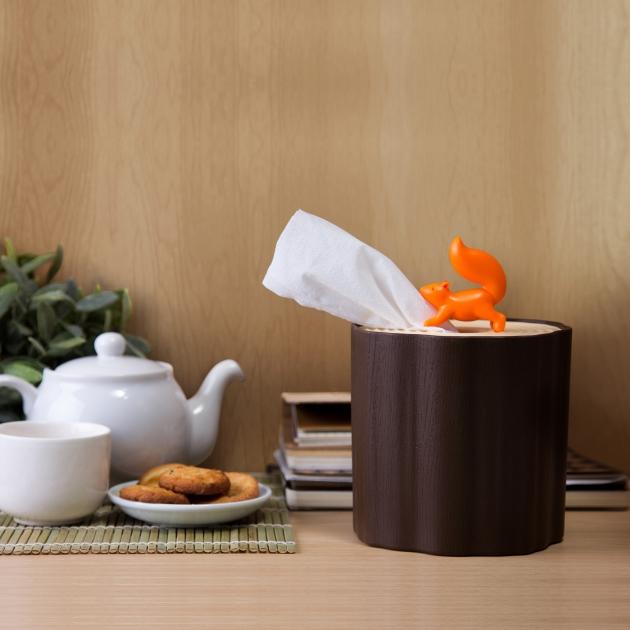 QUALY 松鼠愛森林-捲筒衛生紙盒 4