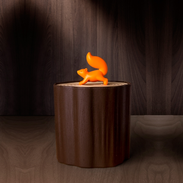 QUALY 松鼠愛森林-捲筒衛生紙盒 5