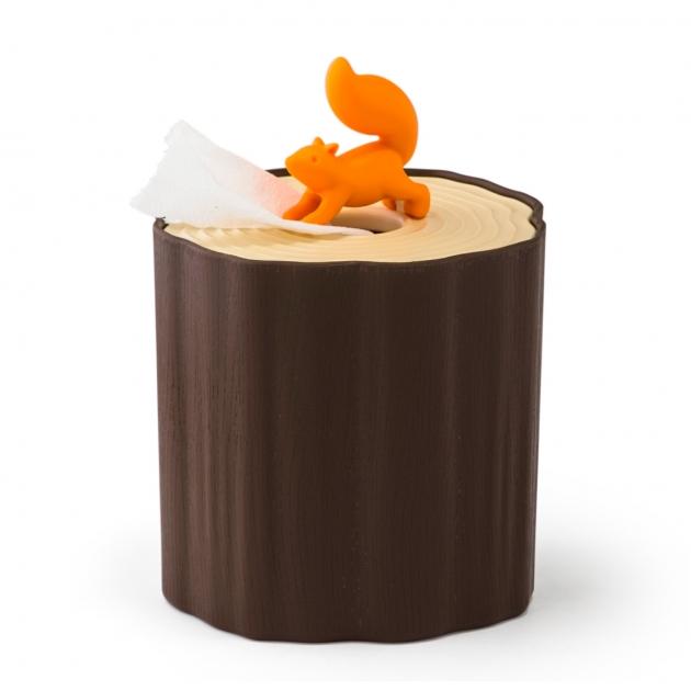 QUALY 松鼠愛森林-捲筒衛生紙盒 1