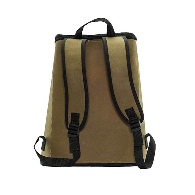 FENZ Fiber Paper Backpack - Brown 2