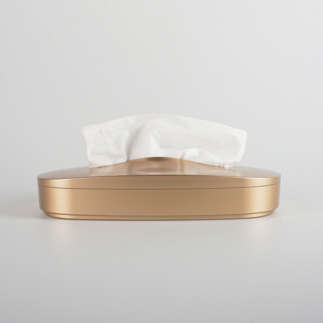 GeckoDesign 伸縮面紙盒-金屬色款 1