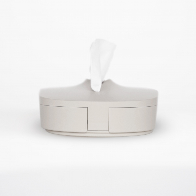 Flexible Tissue Box - Cream Gray 3