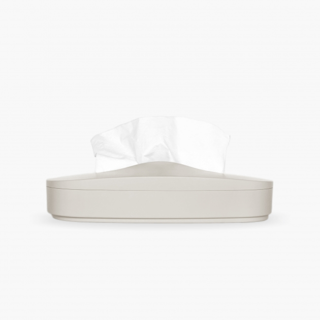 Flexible Tissue Box - Cream Gray 1