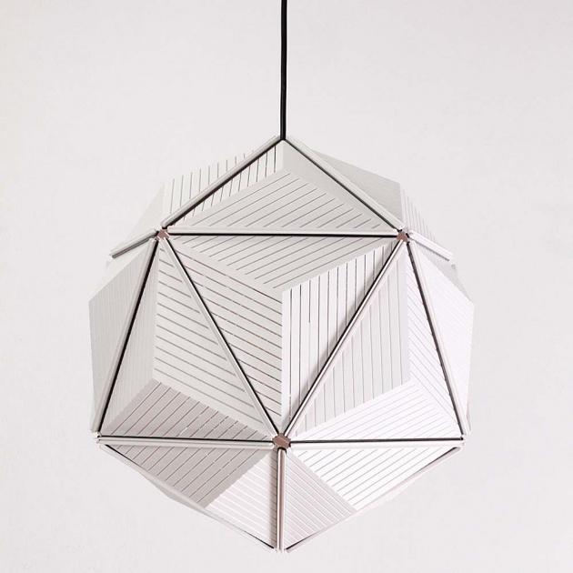 QUALY 三角幾何-燈罩 (2色) 1