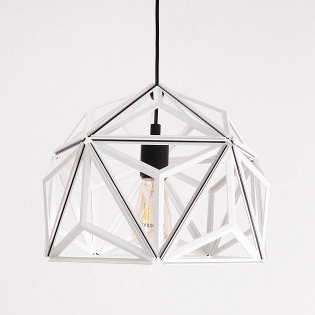 QUALY 三角幾何-鏤空燈罩 (2色) 2