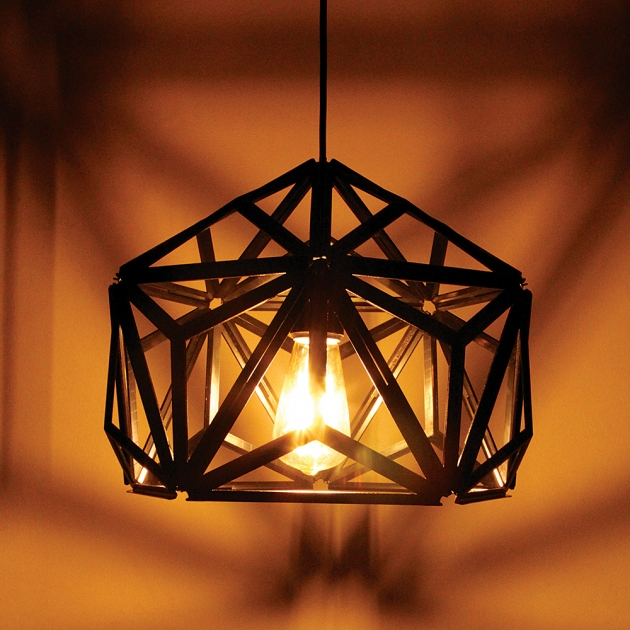 QUALY 三角幾何-鏤空燈罩 (2色) 8