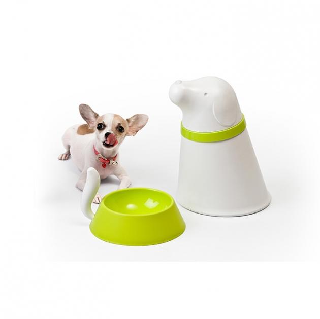 QUALY 帕皮-附碗飼料筒 (2色) 5