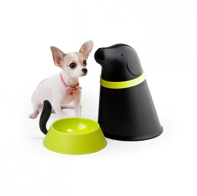QUALY 帕皮-附碗飼料筒 (2色) 6