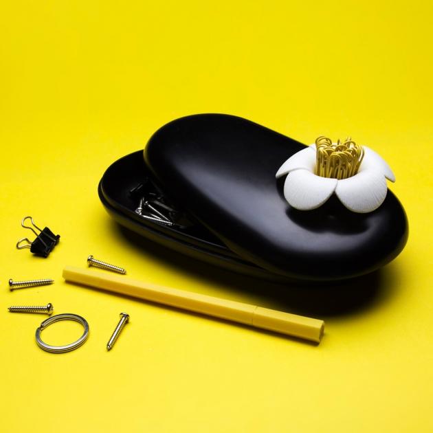 QUALY 石上山茶花-置物盒 (5色) 8