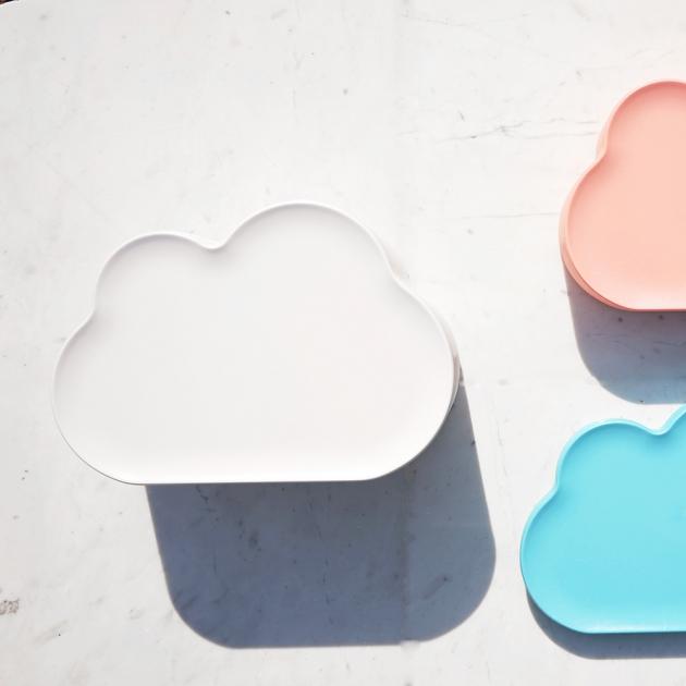 QUALY 朵朵雲兒置物盤 (5色) 8
