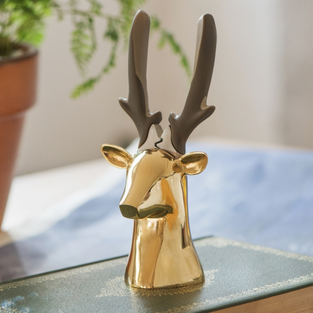 iThinking Dear deer II 座款 斜口鉗-亮面金 4