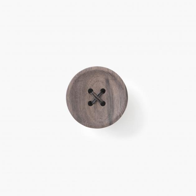 pana objects  胡桃木鈕扣-掛架 1