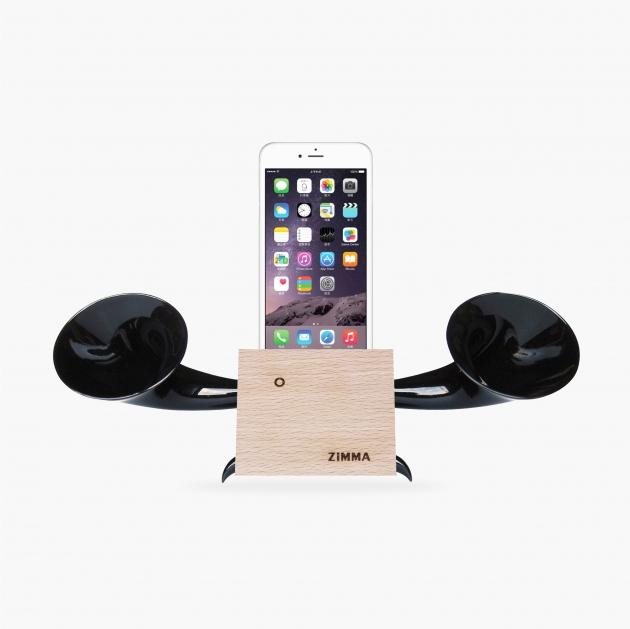 GeckoDesign ZIMMA-立體雙聲道擴音器 For iPhone & Android (4色) 4