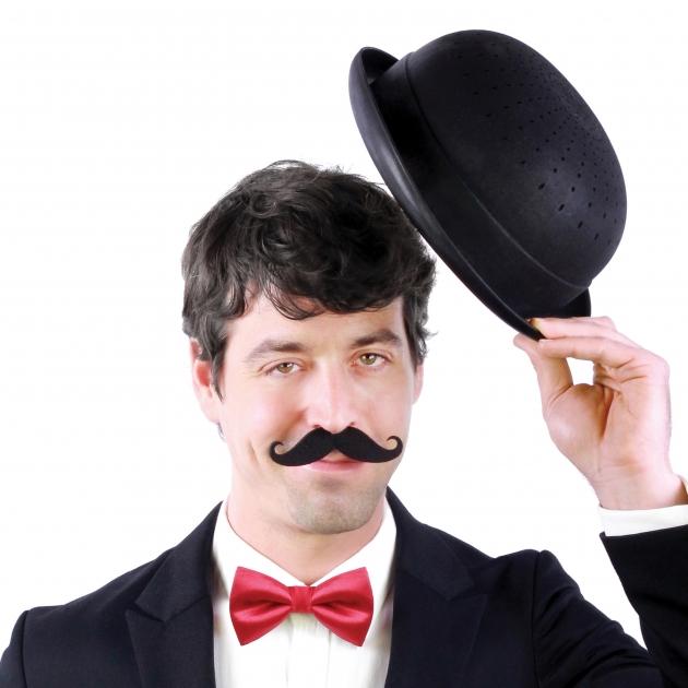 DOIY 紳士帽-瀝水碗 (黑) 5