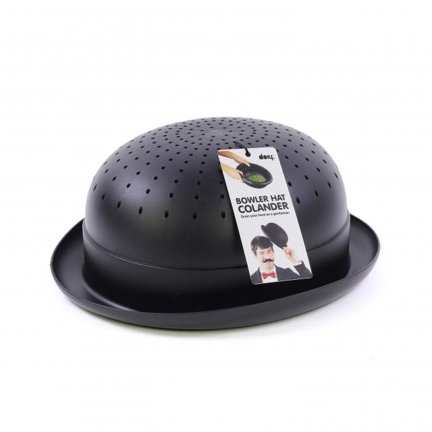 DOIY 紳士帽-瀝水碗 (黑) 3