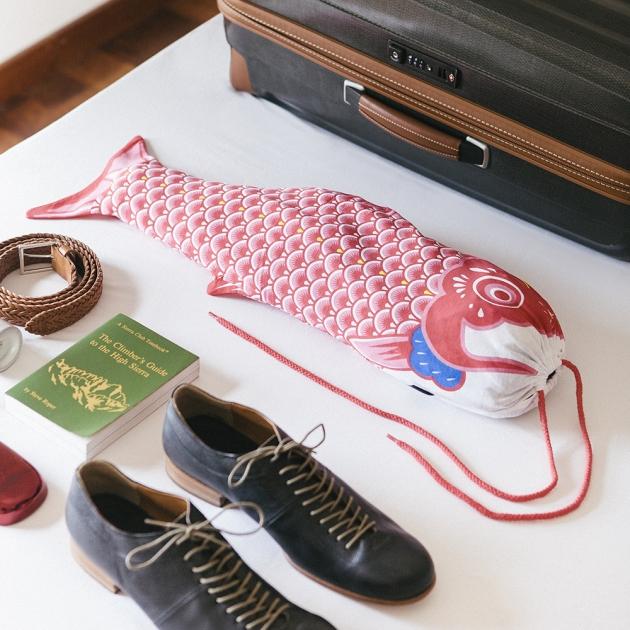 DOIY 鯉魚旗-旅行袋 5