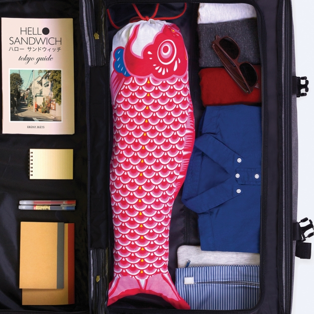 DOIY 鯉魚旗-旅行袋 4